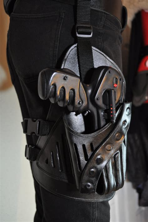 farscape peacekeeper pulse pistol leather holster  belt