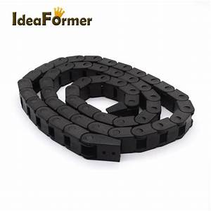 1 Meter Plastic Towline Drag Chain Wire Wrapping Band