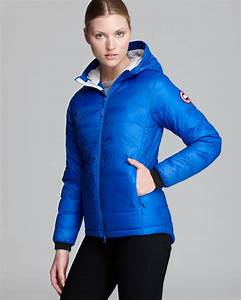 Canada Goose Womens Camp Down Hooded Jacket Black Canada Goose Down Outlet Official