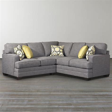 Custom Lshaped Sectional  Bassett Furniture