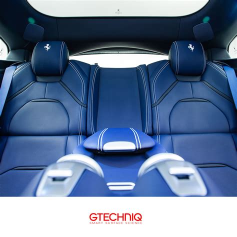 The new ferrari gtc4 lusso.maximum power: #Ferrari GTC4 Lusso . Beautiful blue leather interior. Protected by Gtechniq and our Regional ...
