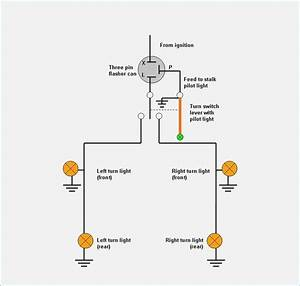 flasher wiring diagram 12v moesappaloosascom With turn signal wiring