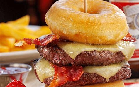 unhealthiest burger  telegraph