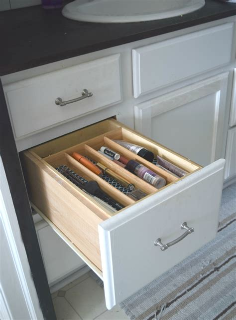makeup organizer drawers simple ways to organize bathroom drawers our house now a