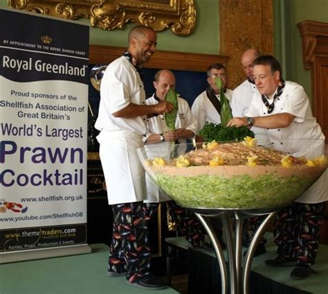 Largest Prawn Cocktailworld Record Set By Sagb