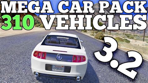Mega Realistic Car Pack 3.2 Car