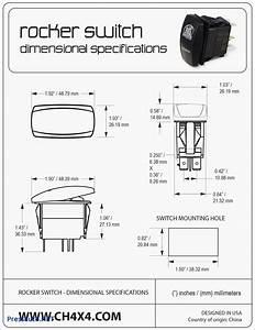 Lighted Rocker Switch Wiring Diagram 120v