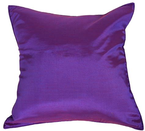 Silk Decorative Pillows by Purple Silk Throw Decorative Pillow Cases For Sofa 16x16