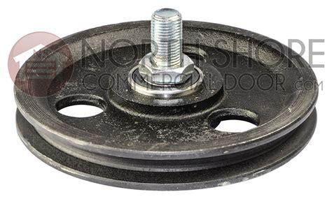 garage door   sheave pulley  bolt