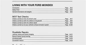 Wiring Diagrams And Free Manual Ebooks  Ford Mondeo