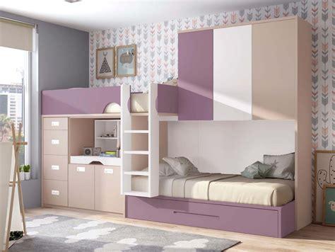 lit superposé avec canapé lit superposé fille personnalisable lit gigogne