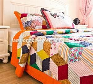 Couvre Lit Patchwork : mode maisons patchwork couvre lit lumineux couleur couvre couette id de produit 60055938962 ~ Teatrodelosmanantiales.com Idées de Décoration