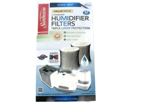 Sunbeam Cool Mist Humidifier Filter Type D (sf221)(value