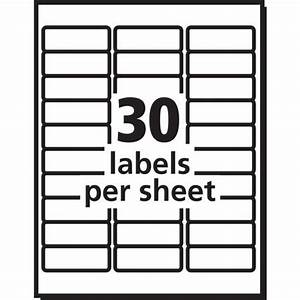 avery avery easy peel address label for inkjet printers With avery labels 8460 template