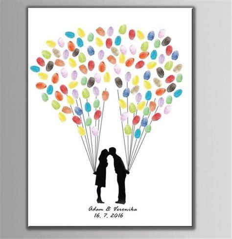 personalized custom wedding decoration fingerprint tree