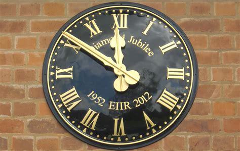 large exterior wall clock for decorating wall clocks