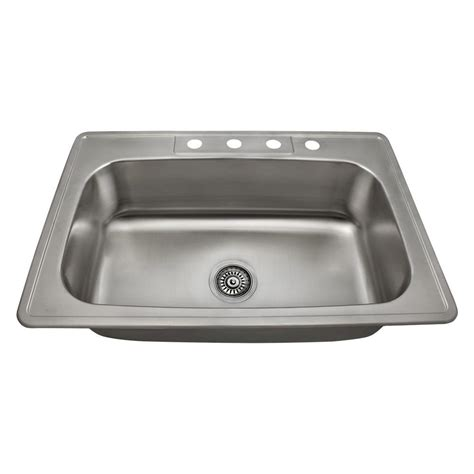 mr direct kitchen sinks reviews mr direct drop in stainless steel 33 in 4 single 7049