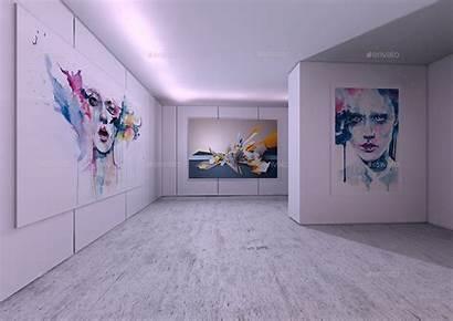 Mock Interior Studio Mockup