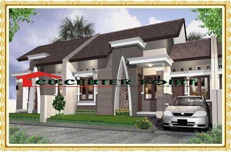 desain rumah cluster type  rumah desain minimalis
