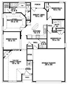 3 bedroom 2 bath house plans 654107 one and a half 3 bedroom 2 bath style house plan house plans floor