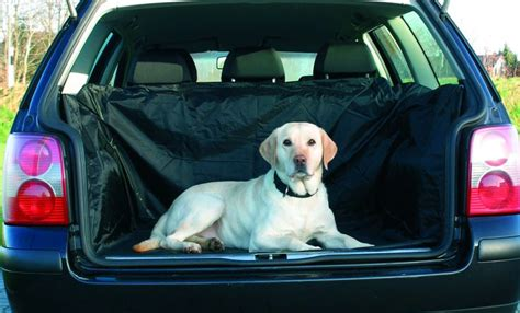 protection coffre voiture chien housse de protection coffre chien trixie kalaoshop