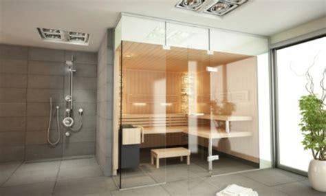 Badezimmer Modern Mit Sauna by Sauna Mit Glasfront 52 Ultramoderne Designs