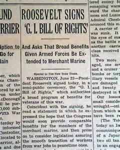 1944 GI Bill of Rights