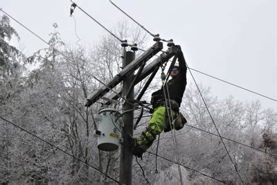 bre receives backup  outage restoration nws forecasts