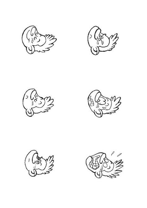 Kleurplaten Emoties by Kleurplaat Emoties Afb 9661