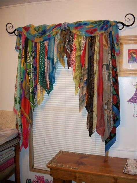 what to do with those old scarves   Repurposing clothes