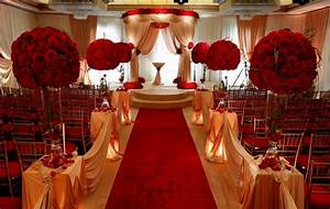 Wedding Decoration Ideas Red And White Gallery - Wedding