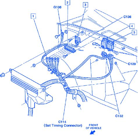 1989 Chevy 1500 Battery Wiring Diagram by Chevrolet Silverado 5700 1999 Electrical Circuit Wiring
