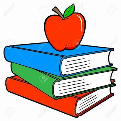 Books Cartoon Apple Vector Illustration Bullying Being