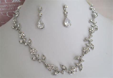 Bridal Jewelry Bride Necklace Bridesmaid Necklace