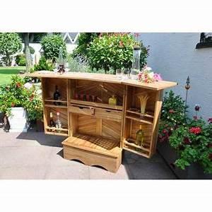 Bar Exterieur De Jardin : bar d exterieur de terrasse en acacia leco gmbh achat ~ Dailycaller-alerts.com Idées de Décoration