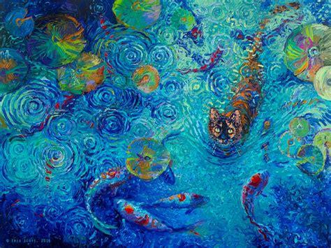 menikmati lukisan 3d di seniman yang satu ini membuat lukisan hanya dengan jari