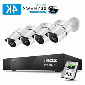 Zosi 4k 8mp Hd Security Cameras System