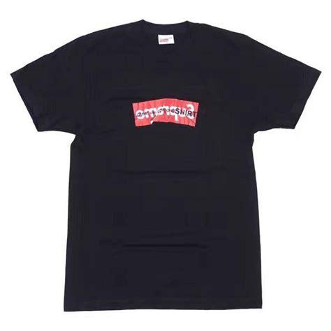 supreme clothes cheap buy cheap supreme clothing x cog shirt box logo black