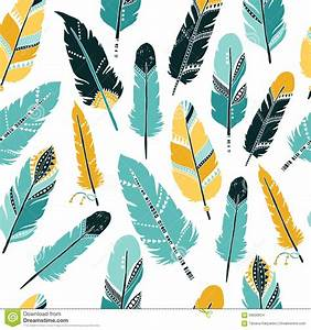 Feather background stock vector. Image of hipster, retro ...