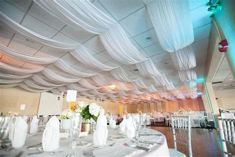 1000 images about wedding decor on - How To Drape A Ceiling With Fabric