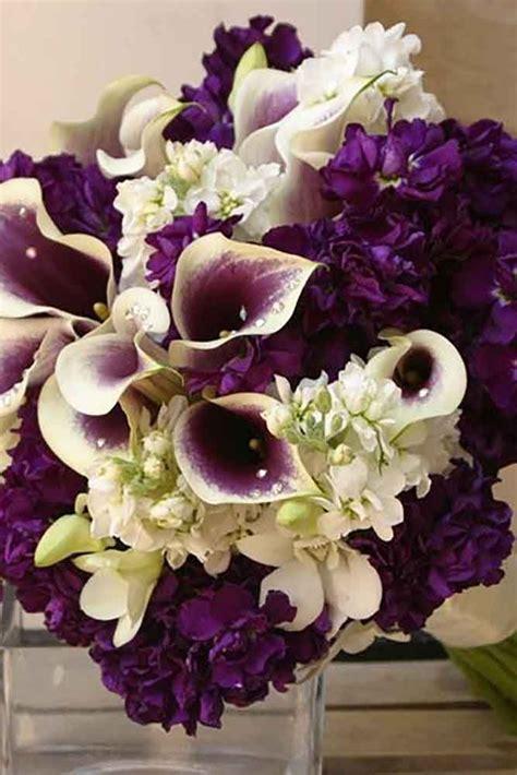 ideas  purple wedding bouquets  pinterest