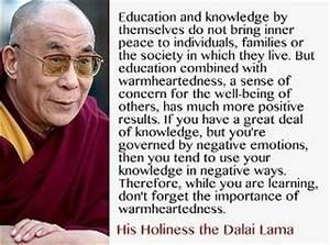 Dalai Lama Quotes On Education. QuotesGram