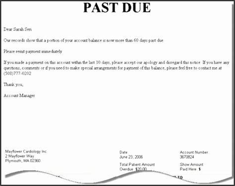 due letter template sampletemplatess