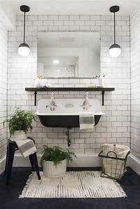 Bad Deko Schwarz : badezimmer bad in schwarz wei einrichten bad pinterest badezimmer badezimmer fliesen ~ Bigdaddyawards.com Haus und Dekorationen