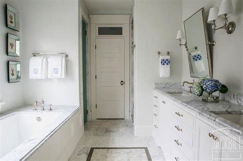 long and narrow master bathroom ideas transitional