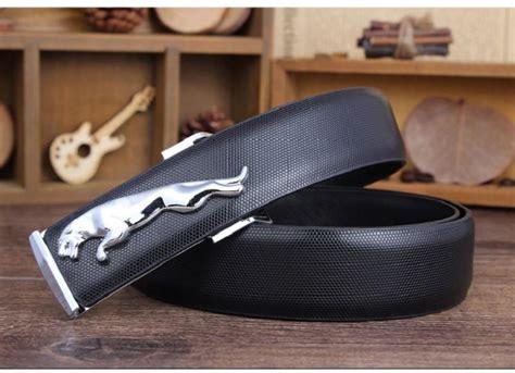 Luxury Genuine Leather Designer Belts Men Golden Silver