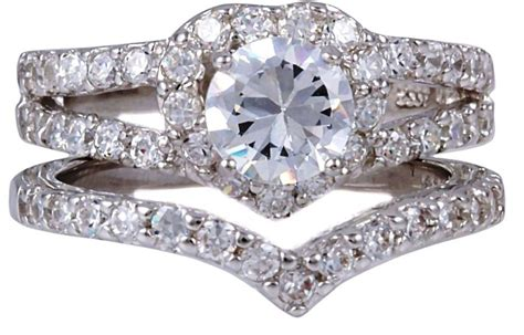 15 Ideas Of Wedding Bands Sets For Women