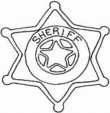 Badge Coloring Police Template Sheriff Hat Callie Printable Getcolorings Clipart Clipartbest Clipartmag Tag Getdrawings Colorings sketch template