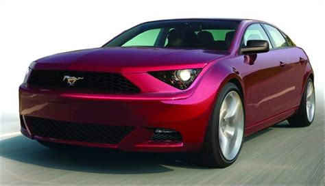 4 door mustang for time for a four door mustang all signs point to yes stangtv