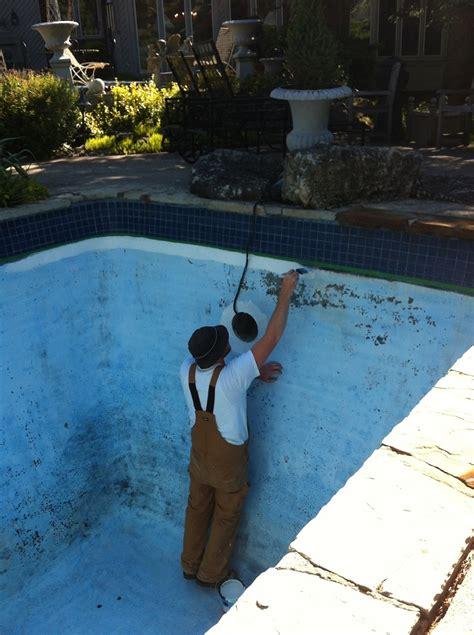 paint  concrete pool